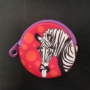 Marc by Marc Jacobs  Zebra Coin Purse